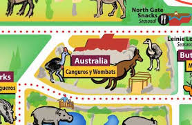 chicago zoo map chicago zoological society australia house