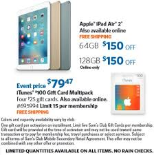Sams Club Thanksgiving Sam U0027s Club Announces Holiday Savings Event With Iphone 6s And Ipad