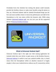 universal androot apk universal androot by smita rani issuu