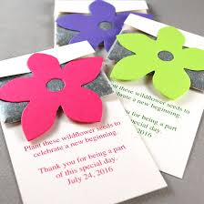 seed paper wedding favors wildflower seed packet favor plantable seed wedding favors