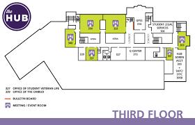 Map Floor Plan Hub Third Floor Map The Hub