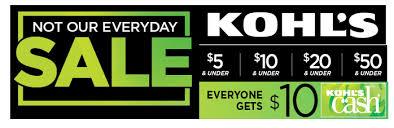 kohl s epic deals sale