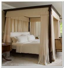 Poster Bed Curtains Amazing Of Four Poster Bed Curtains Drapes Ideas With Fresh Canopy