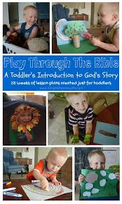 baby jesus play through the bible toddler bible study