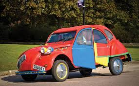 citroen 2cv this citroen 2cv has been given the picasso treatment carsguide