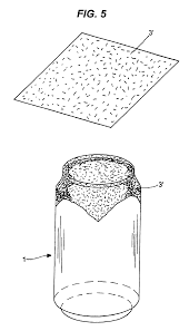 patent us6708748 beverage can with a protective cover a blank