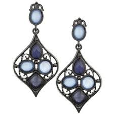 arabian earrings 1928 jewelry blue moon arabian nights earrings polyvore
