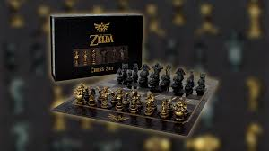 zelda chess collector u0027s set now available for pre order