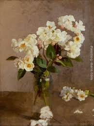 white roses for sale sir george clausen white roses painting anysize 50