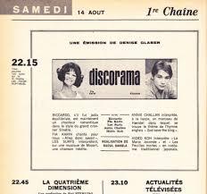 rika zarai bain de si e discorama 1965 1966 episode guide