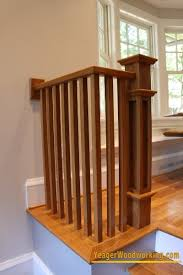 Oak Banister Oak Railings Staircases Railings Of Creative Carpentry Inc