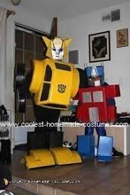 coolest homemade transformers costume ideas