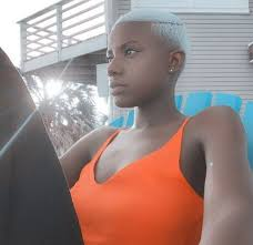 bald hairstyles for black women livesstar com 868 best bald is beautiful images on pinterest blondes