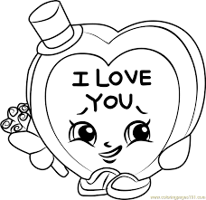 candy kisses shopkins coloring free shopkins coloring pages