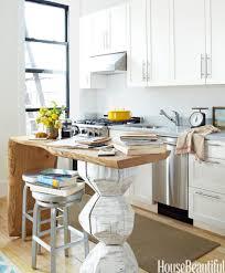 quartz countertops small kitchen island table lighting flooring