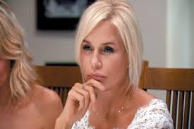 hair style from housewives beverly hills joyce drank the richards sisters kool aid the real housewives
