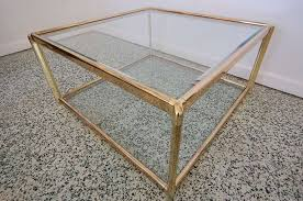 gold glass coffee table amazing glass and gold coffee table hollywood regency gold and glass