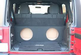 jeep wrangler speaker box custom car audio 2007 2013 jeep wrangler unlimited 4 door dual