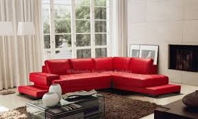 Custom Leather Sectional Sofa Red Leather Sectional Sofa With Recliners Centerfieldbar Com