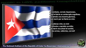 Cuba And Puerto Rico Flag Cuba National Anthem