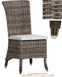 chaises en osier chaise rotin chaise en rotin naturel