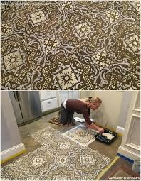 Decorating With Tiles Allover Wall Stencil Lisboa Tile Stencil Royal Design Studio