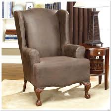 Armchair Ottoman Design Ideas The Leather Wingback Chair With Ottoman Design Ideas 26 In Aarons
