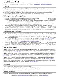 Resume Samples For Hospitality Industry by Download 1 Page Resume Haadyaooverbayresort Com