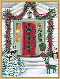 caspari christmas cards boxed amazon com