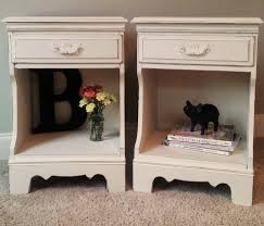 bedroom nightstand shabby chic white nightstand unique bedside