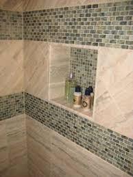 Kitchen Backsplash Install U2013 Pt 1 Winslow Home Living by Porcelain Niche With Shelf And Glass Travertine Liner Photo 2