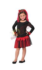 age 4 14 girls zombie broken doll halloween costume wig kids leg