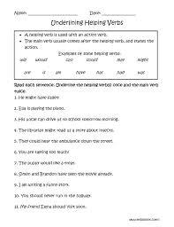 verbs worksheet for kindergarten koogra