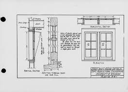 window in plan the state index of plans october 1924 dairy barn window details