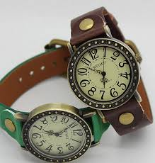 vintage bracelet watches images Vintage bracelet watch leather antique watch charm gift for boy jpg