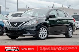 nissan canada cvt warranty used 2016 nissan sentra s for sale in montreal p7238 spinelli