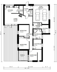 Single Story Ranch Style House Plans Ranch Style House Plan 3 Beds 2 00 Baths 2109 Sq Ft Plan 906 1