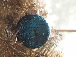 diy sequins u0027n glue christmas ornament