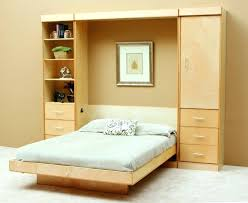Bedroom Wall Unit Headboard Bed Shelves To Add Storage Space To A Small Bedroom Install