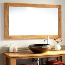 bathroom wall mirrors with lights lighted mirror for image of
