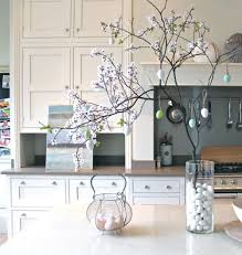 decorating enchanting kitchen ideas with creative vase fillers
