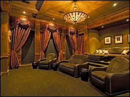 Home Theater Decorating Hollywood Decor Old Movie Vintage Bedroom Home Theater Decorating