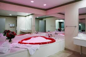 Romantic Room Heart Shaped Tubs Paradise Stream Resort Cove Haven Resort
