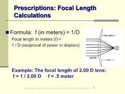 Legal Blindness Diopter Certified Paraoptometric Assistant Review Course Cpoa Ppt Download