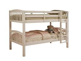 Linon Bunk Bed Linon Mission Style Bunk Bed White Kitchen Dining