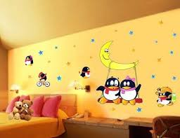 Wall Art For Kids Room by Cartoon Wall Stickers For Kids Rooms Décor Homeclick