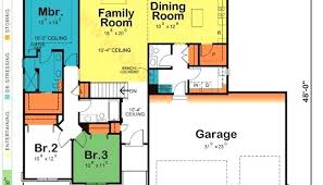 home plans design single story house blueprints one story house home plans design