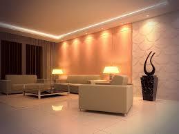 le wohnzimmer led éclairage led et types de luminaires dans le salon parfait