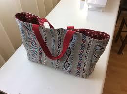 patron couture sac cabas tuto couture cabas pour courses youtube