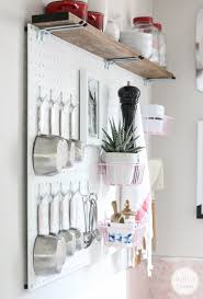 kitchen pegboard ideas pegboard kitchen storage